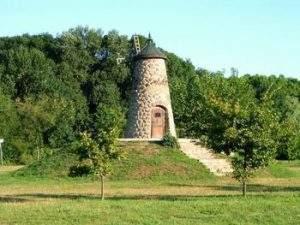 Történelmi Magyarország közepe - malom